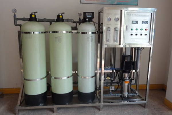 What are the basic water treatment equipment in a water plant?